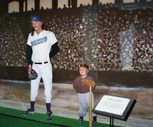 Heroes of Baseball Wax Museum in Cooperstown, NY