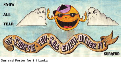 Surrend poster for Sri Lanka