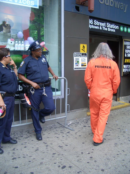 Joey Skaggs Tests New York City Security
