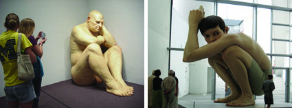 Big Man & Boy, Ron Mueck