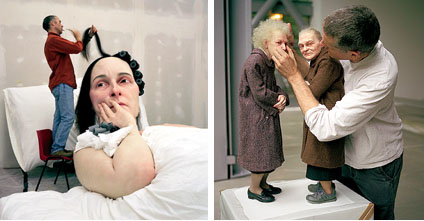In Bed & Two Women, Ron Mueck