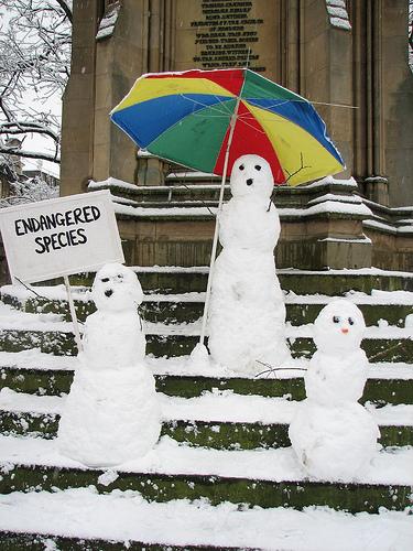 Snowman Art 3