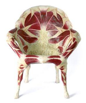Meat Chair, by Simone Racheli