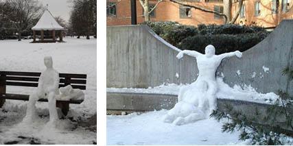 Snowman Art 1