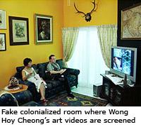 "Wong Hoy Cheong""™s Re-Looking Art Exhibit"