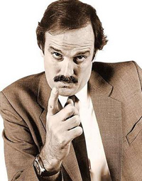 Actor John Cleese