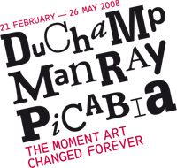 Duchamp, Man Ray, Picabia at the Tate Modern