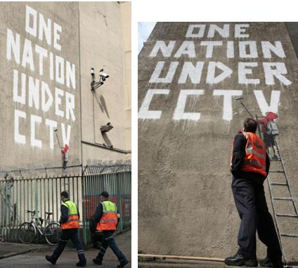 Banksy: One Nation Under CCTV