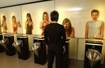 "Edge Design Men""™s Restroom"
