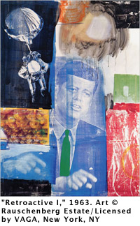 "Robert Rauschenberg, ""Retroactive I,"" 1963"