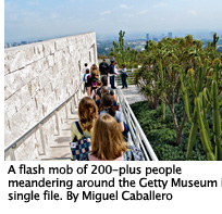 Get Thee to the Getty, photo by Miguel Caballero