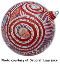 Christmas Ornament by Deborah Lawrence