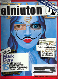 Elnuiton.com Culture Jamming Issue Cover