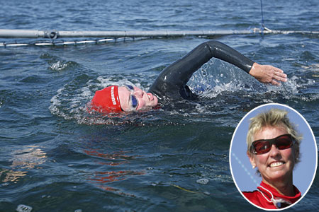 Jennifer Figge Swims the Atlantic Ocean, not