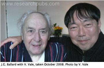 J.G. Ballard with V. Vale