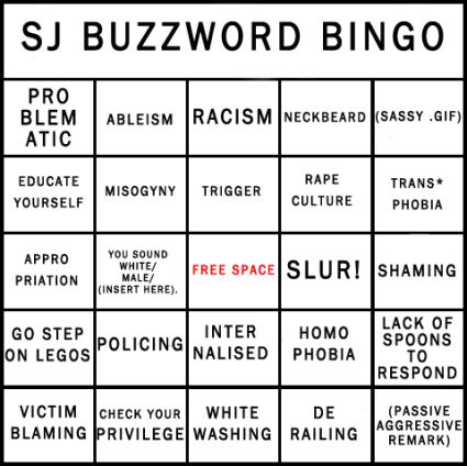 Social Justice Bingo