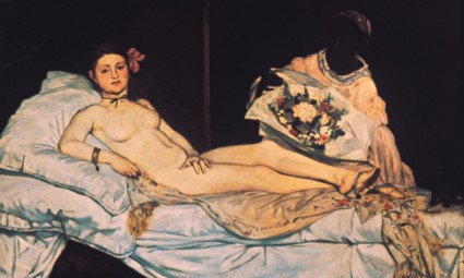 Olympia by à‰douard Manet. Photograph: Corbis