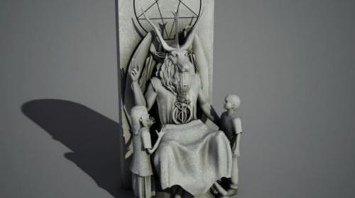 satan-statue